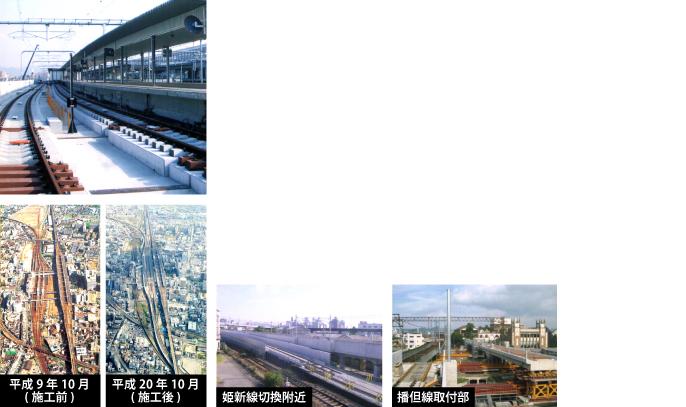 株式会社kansai(カンサイ)の施工実績 姫路駅高架工事